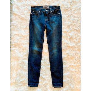 J BRAND Skinny Dark Wash Stretch Jeans